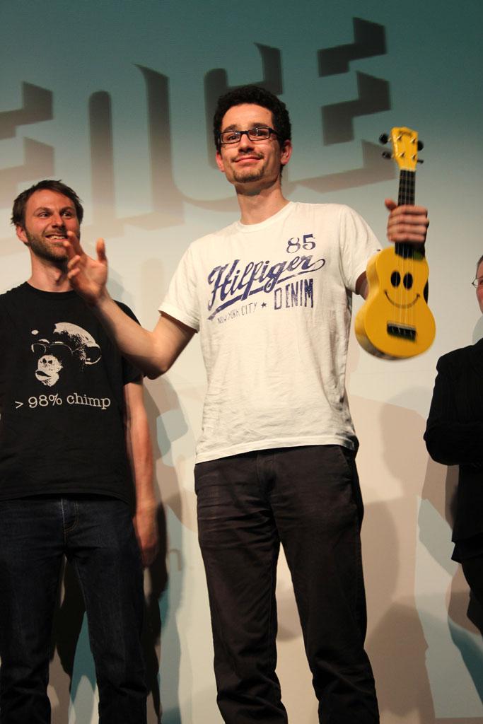Johannes Schildgen beim #34 Science Slam Berlin